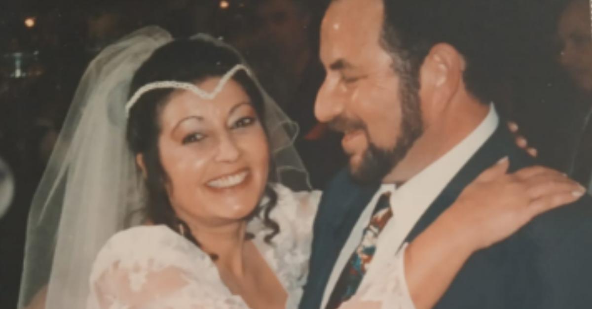 מריו וצביה בורשטיין ביום חתונתם
