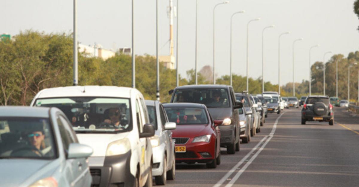 פקקים בכבישים