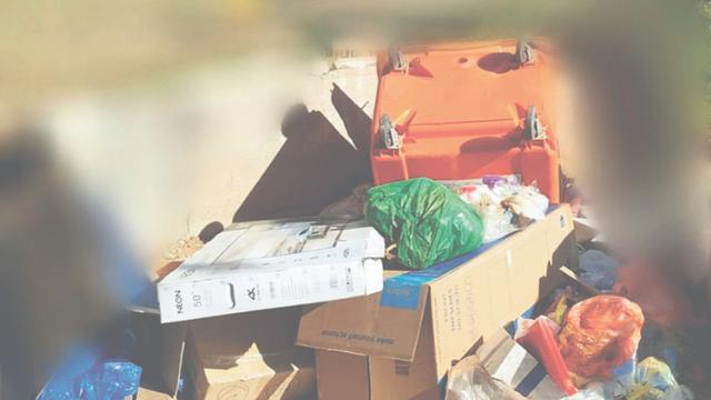 חיישנים ימדדו את מפלס האשפה בפחים