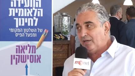 ראש עיריית רעננה חיים ברוידא