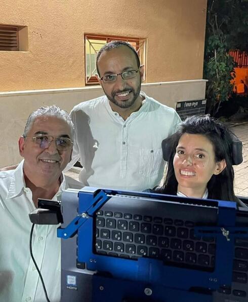 דבי עם בעלה עמיחי וראש העירייה