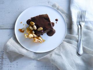 לזניית שוקולד. צילום: רונן מנגן