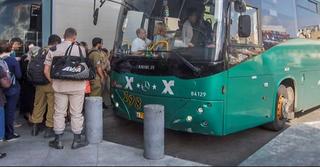 אוטובוס אגד   צילום: עידו ארז