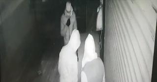 הפריצה לבית העסק ברעננה | צילום: דוברות המשטרה