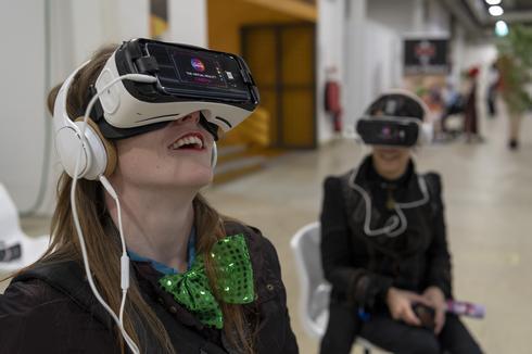 מציאות מדומה בהוד השרון | צילום: אי.פי.איי