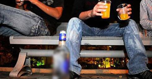 צריכת אלכוהול בקרב בני נוער   צילום להמחשה: קובי קואנקס