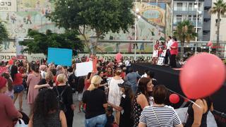 מחאת האימהות בנתניה | צילום: רינה ארביב