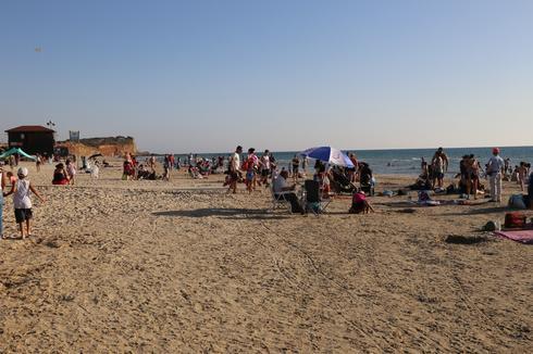 חוף אולגה (צילום: איתמר רותם)