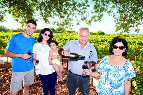 ג'וליה, ג'ורג', סירין ולואיי עארף  צילום: נחום סגל