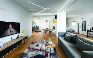 דירה מודרנית בתל אביב, צילום: אלעד גונן
