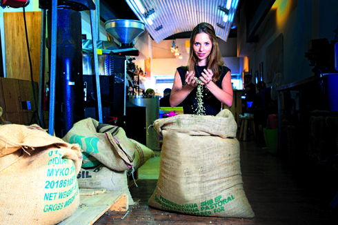 """דולב גולדברג ז""""ל. האהבה לקפה הייתה עבורו דרך חיים. צילום: ריאן"""