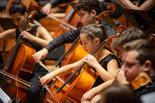 התזמורת הפילהרמונית הצעירה. צילום: יעל אילן
